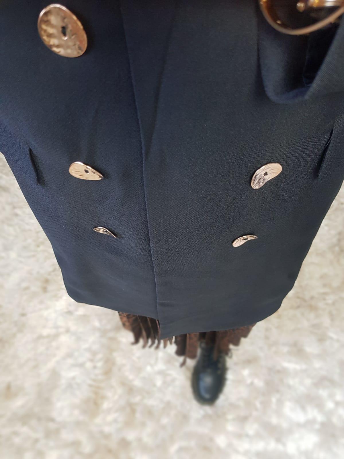 Blazer midi albisola black