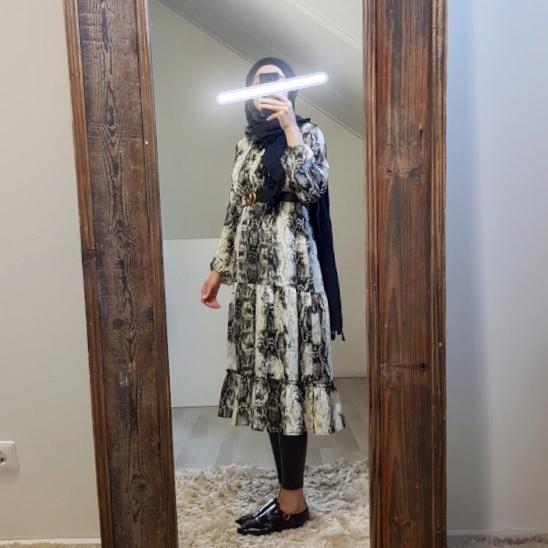 Dress varazze print grey