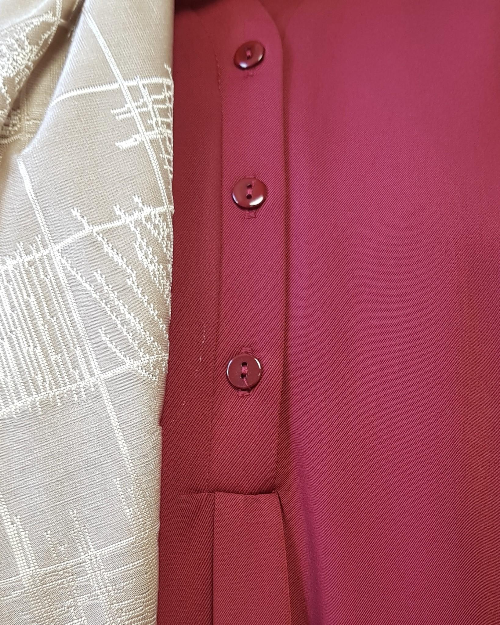 Abaya albarella red