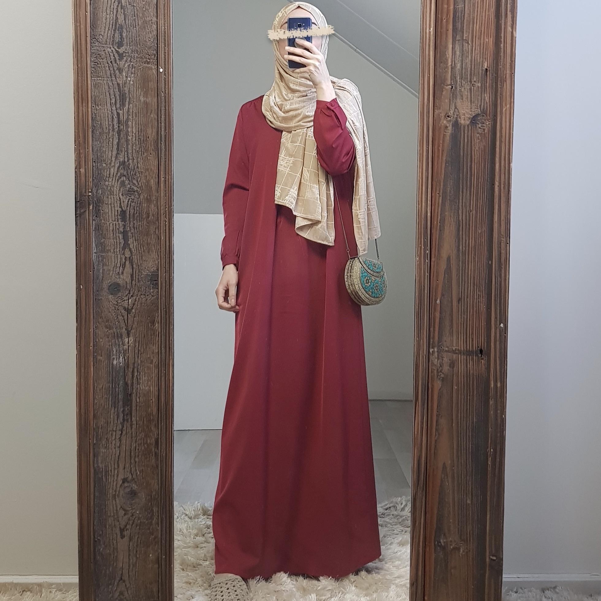 Abaya albarella rood