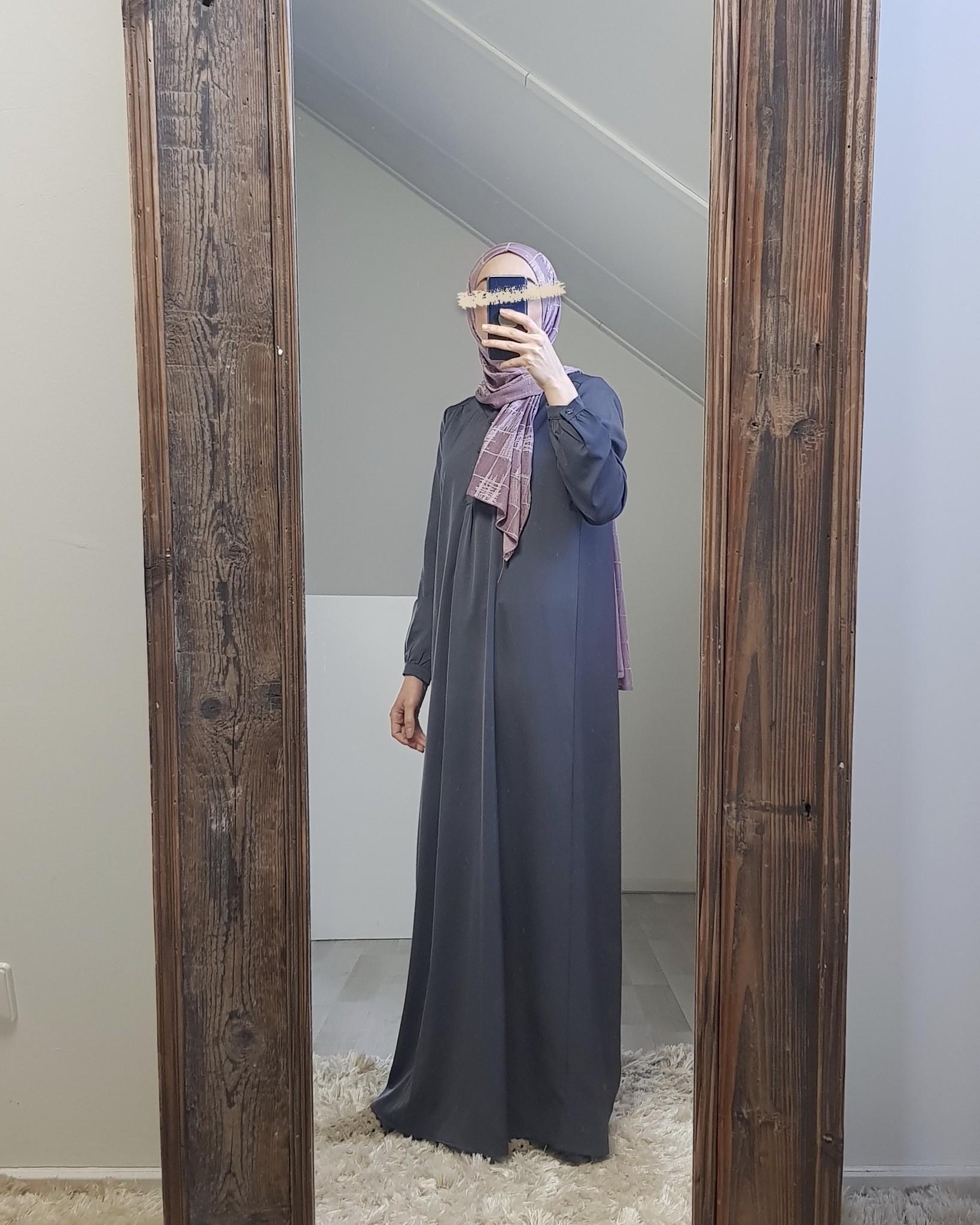Abaya albarella d-grijs