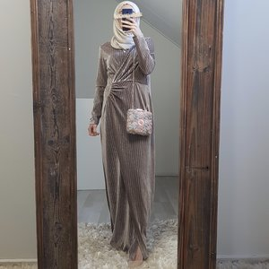 occassion dress tuscany beige