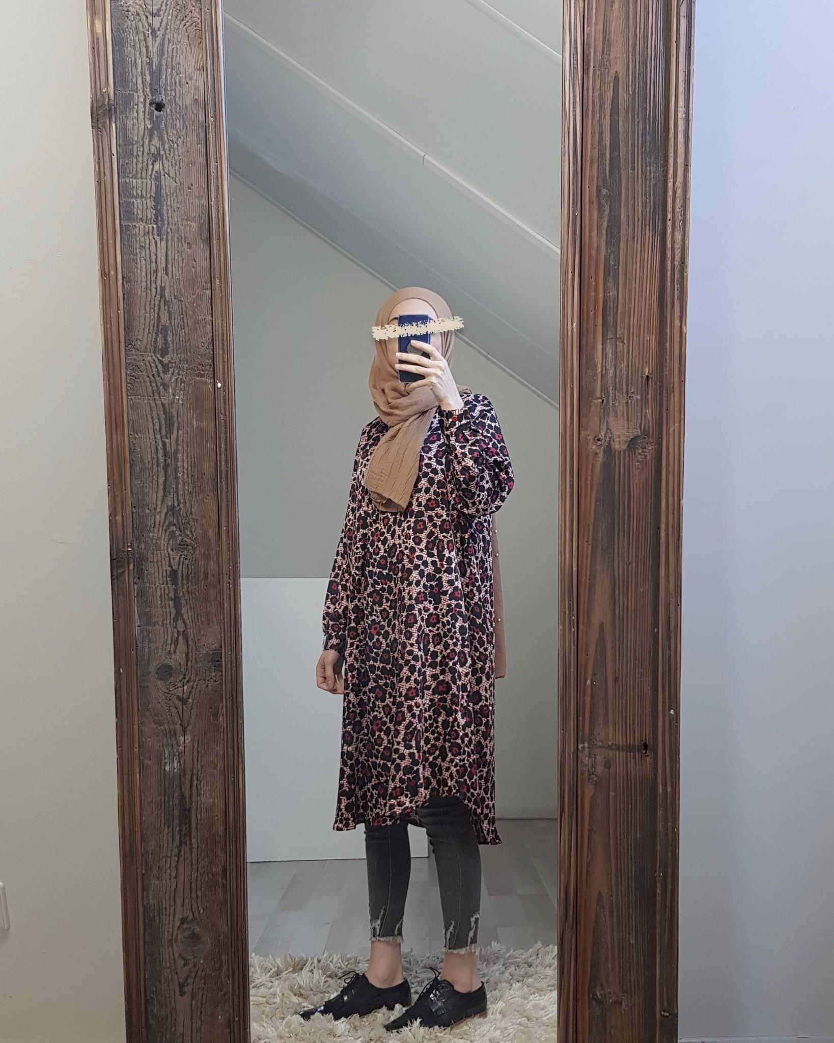 Tuniek framura rood (loose fit)