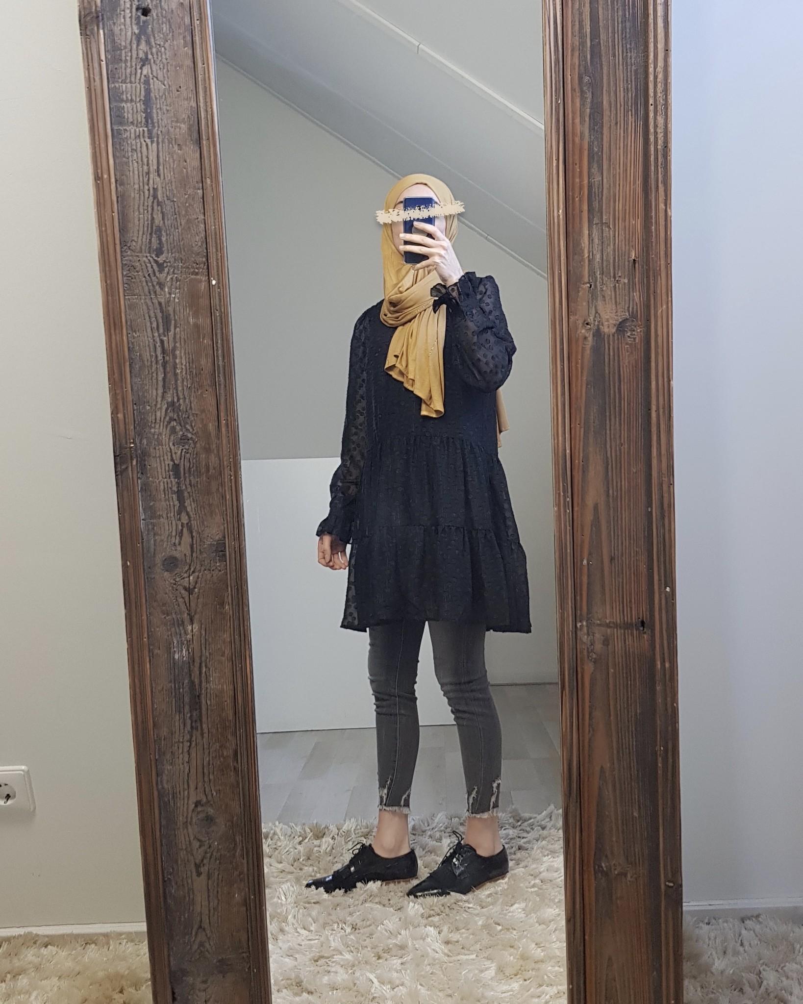 Tuniek anacapri zwart