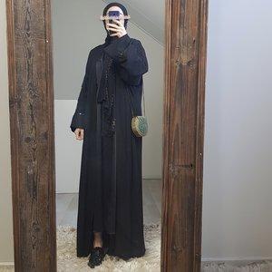 Kimono sirente zwart