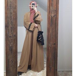 Kimono greco L-bruin