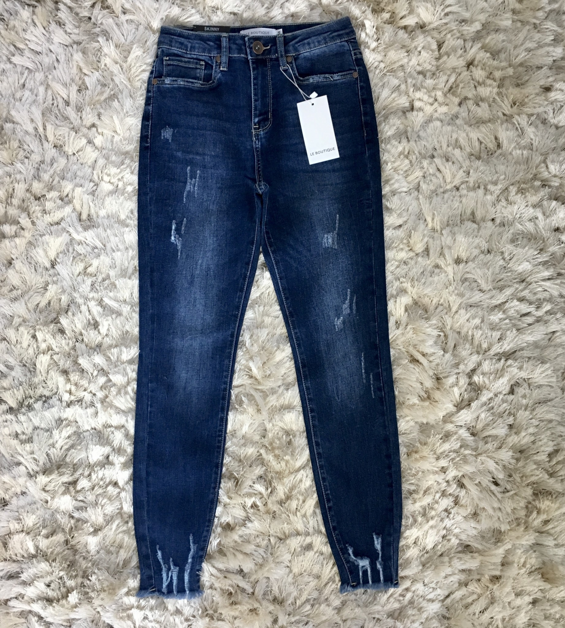 Ripped jeans sanremo blauw