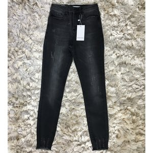 Ripped jeans sanremo black