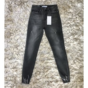 Ripped jeans sanremo grijs