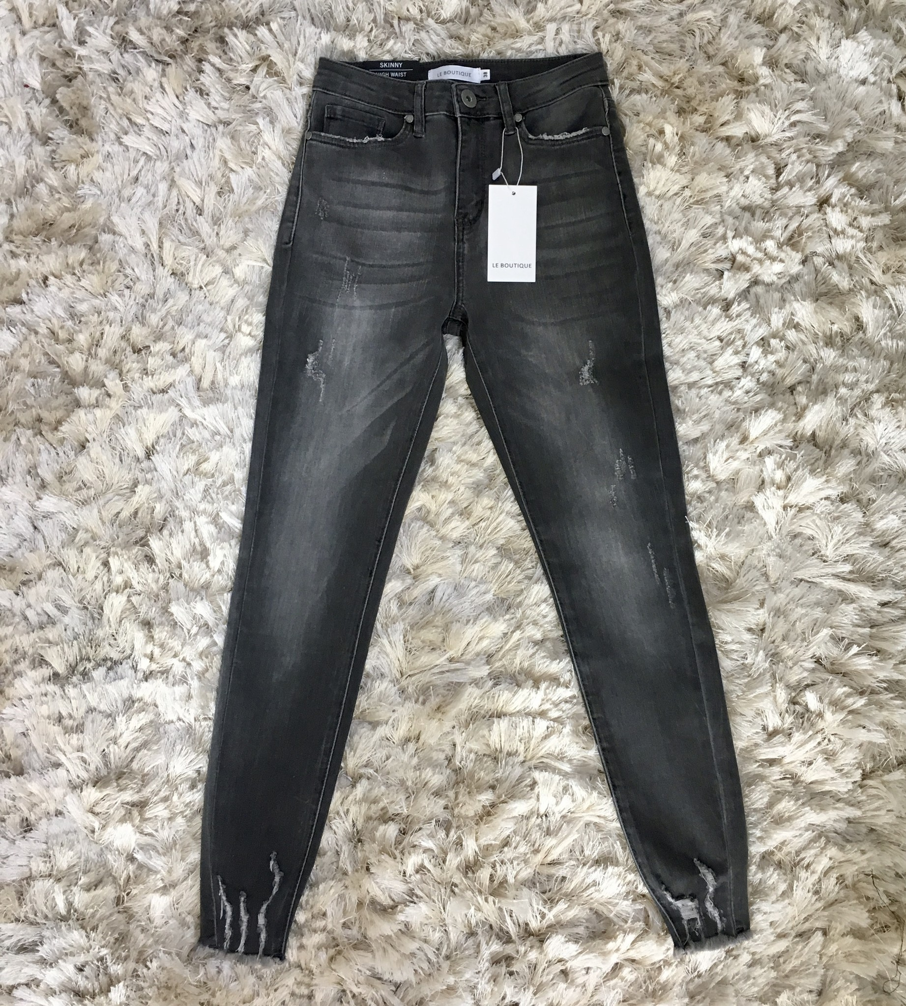 Ripped jeans sanremo grey