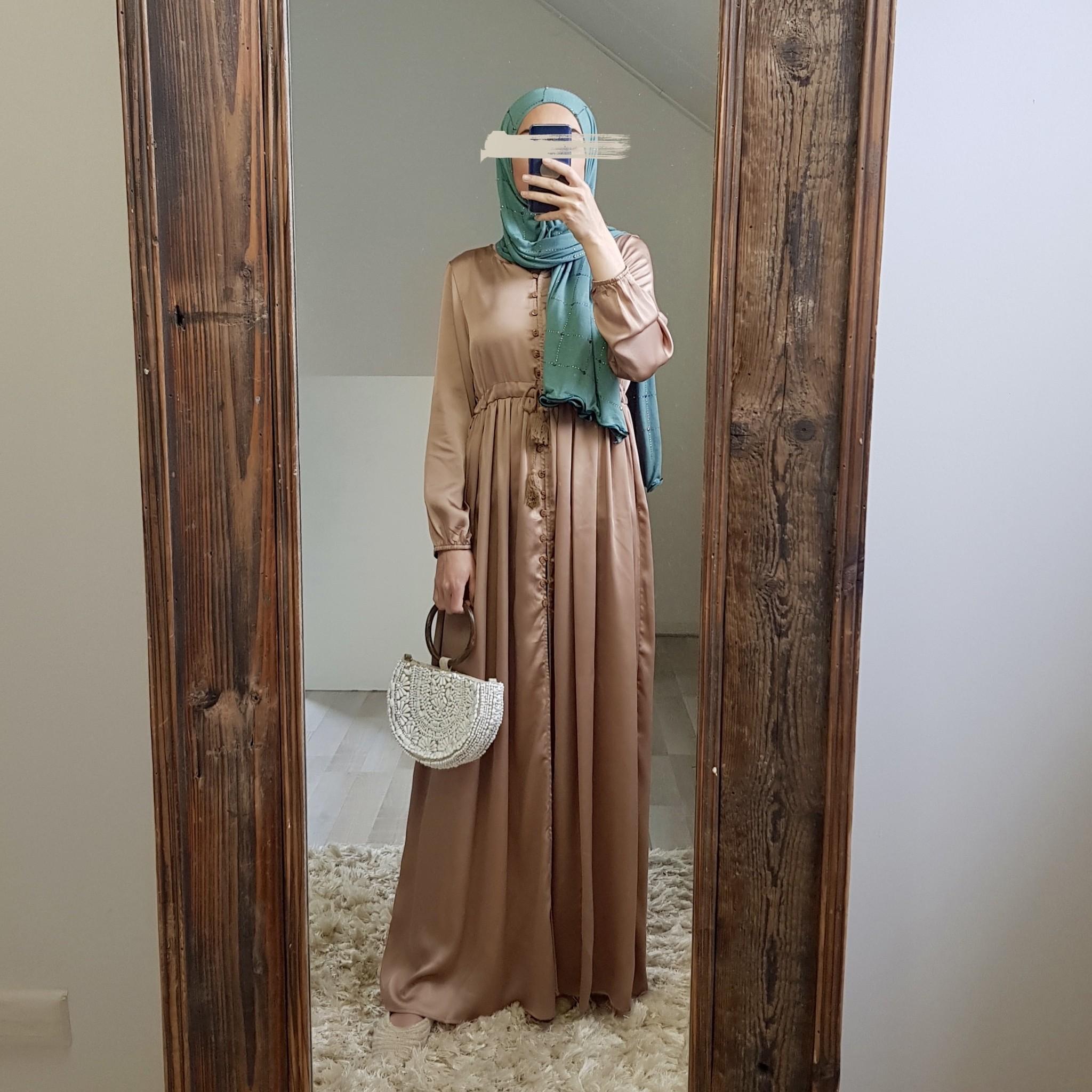Dress mazara satin blue