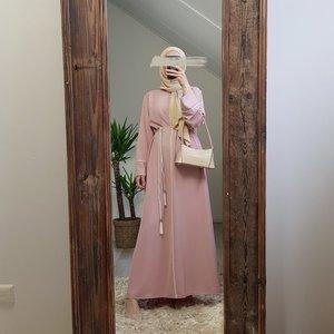 Abaya jurk morciano roze