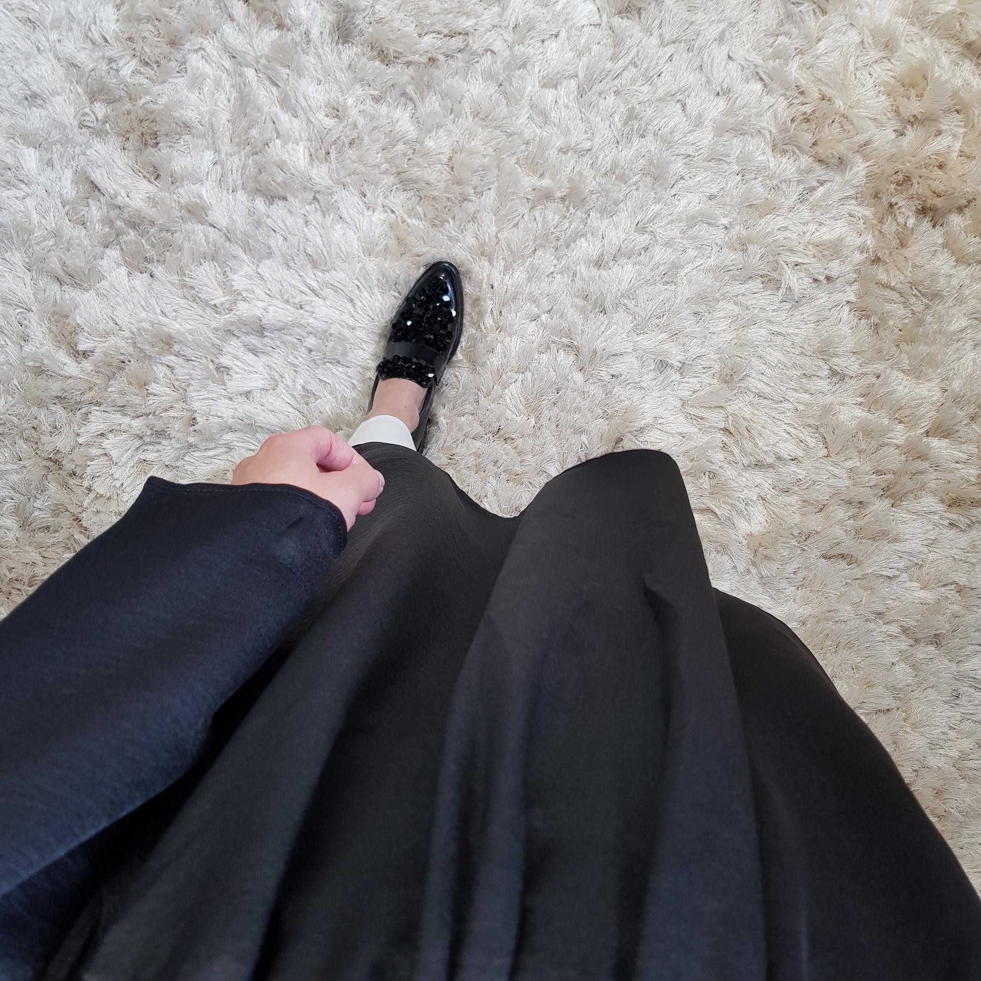 Jurkje recanati zwart
