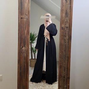 Kimono staffora zwart