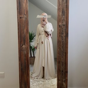 Kimono staffora Beige