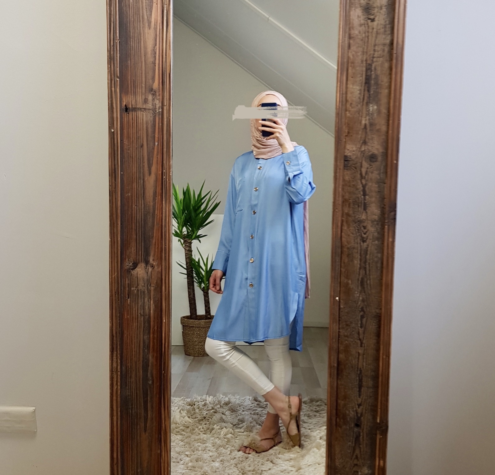 Tuniek monteviale blauw