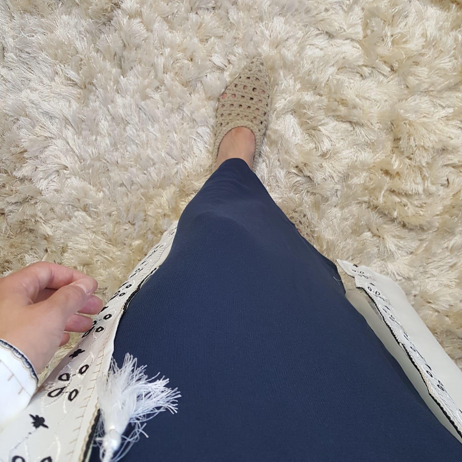 Rok gabicce blauw