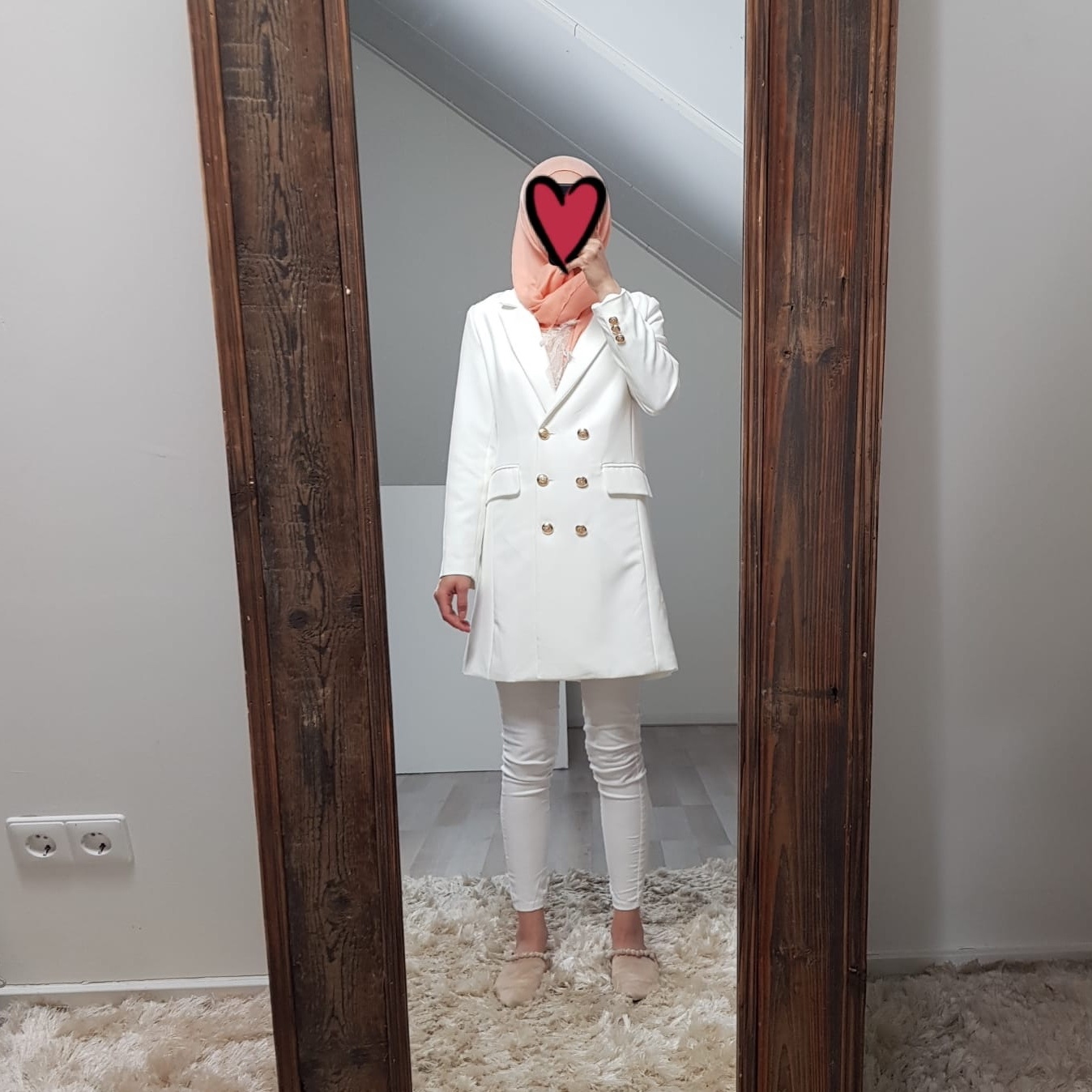 Blazer fuscaldo white - Copy