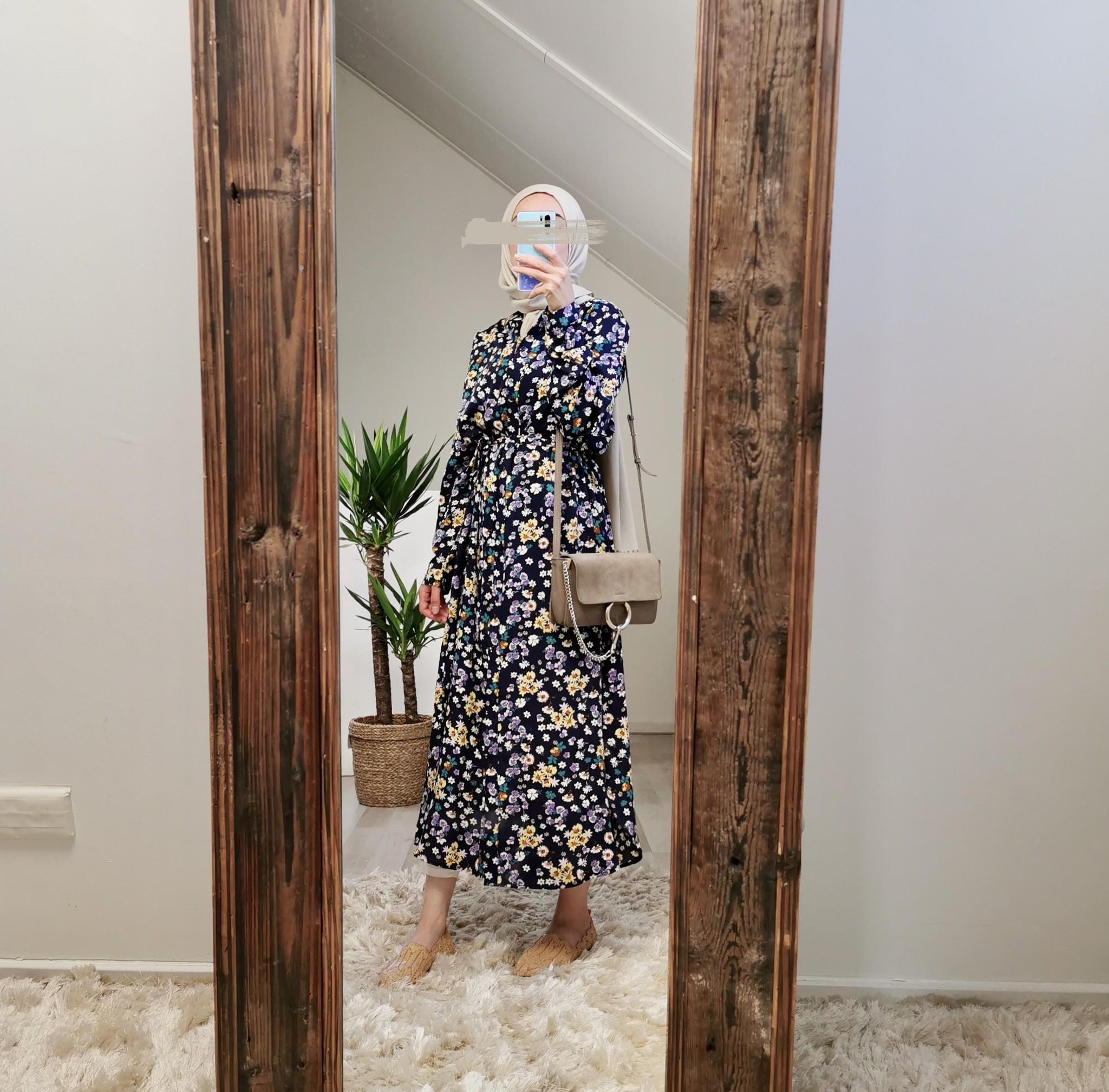 Hijablouse nardo navy v3