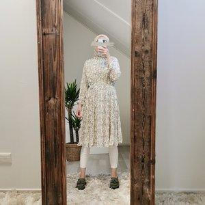 Dress felina snake beige