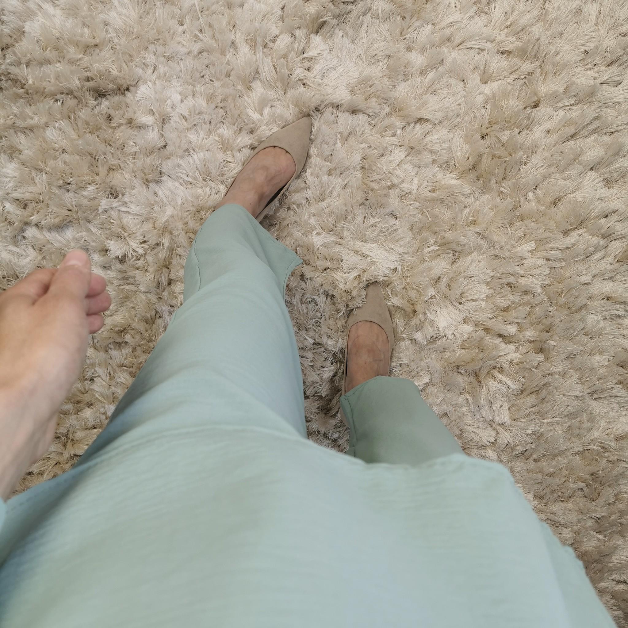 Loose fit setje augusta mint green