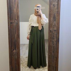 skirt ercalano green
