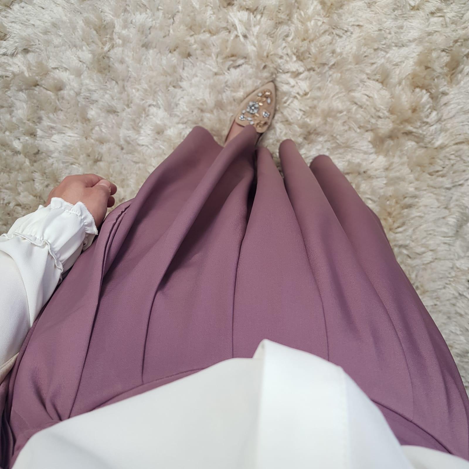 skirt ercalano pink
