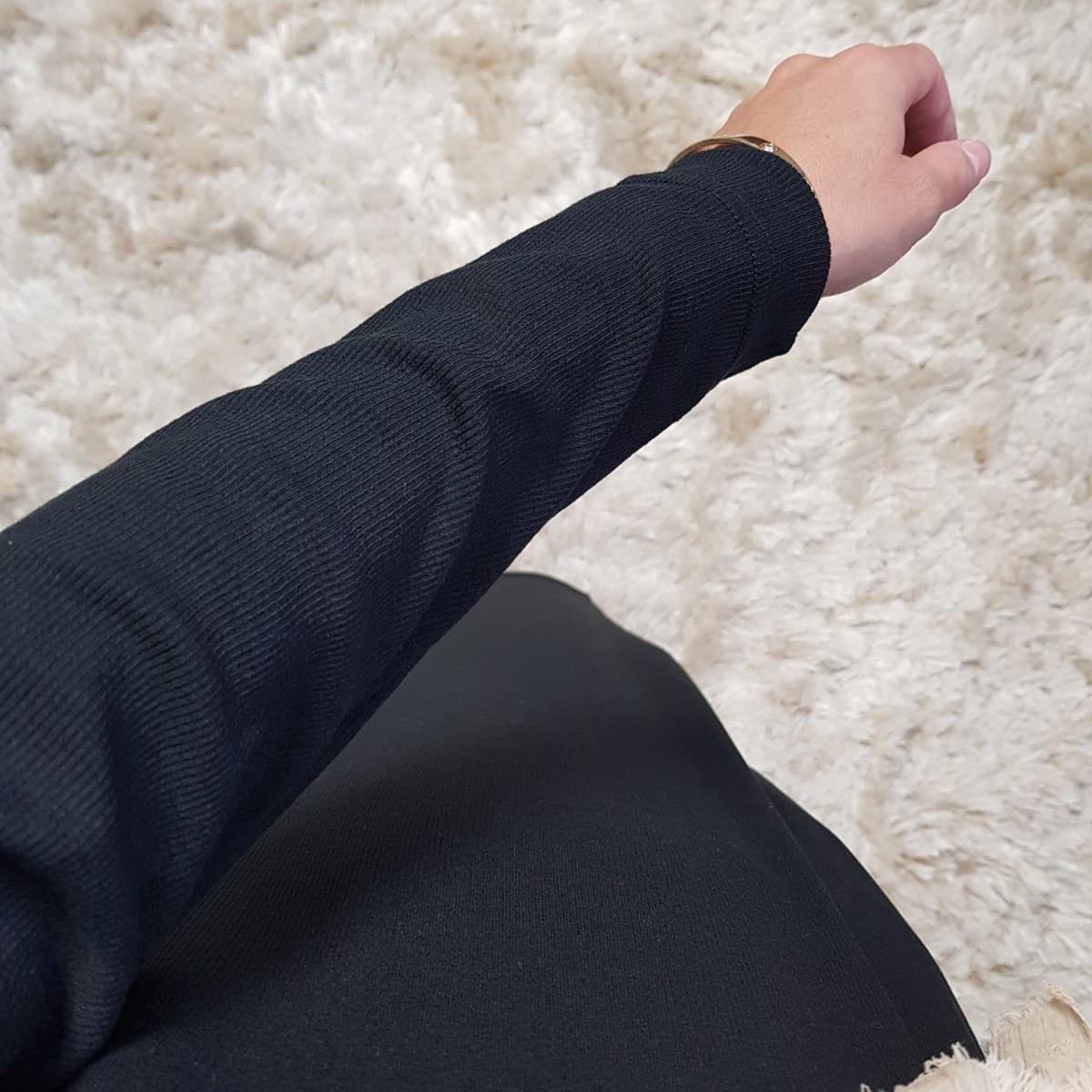 Body jurk acciaroli II zwart