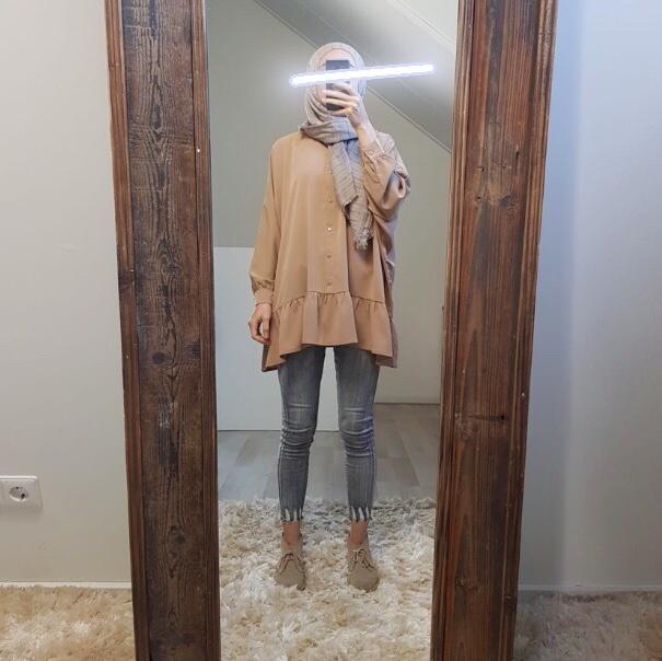 Tuniek nocera beige  (oversized)