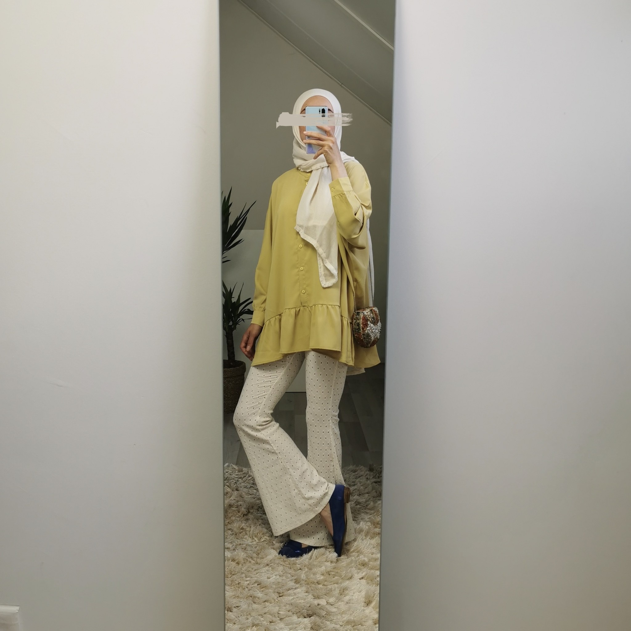 Tuniek nocera yellow  (oversized)