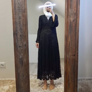 Dress Cropani black