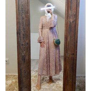 Dress Cropani pink