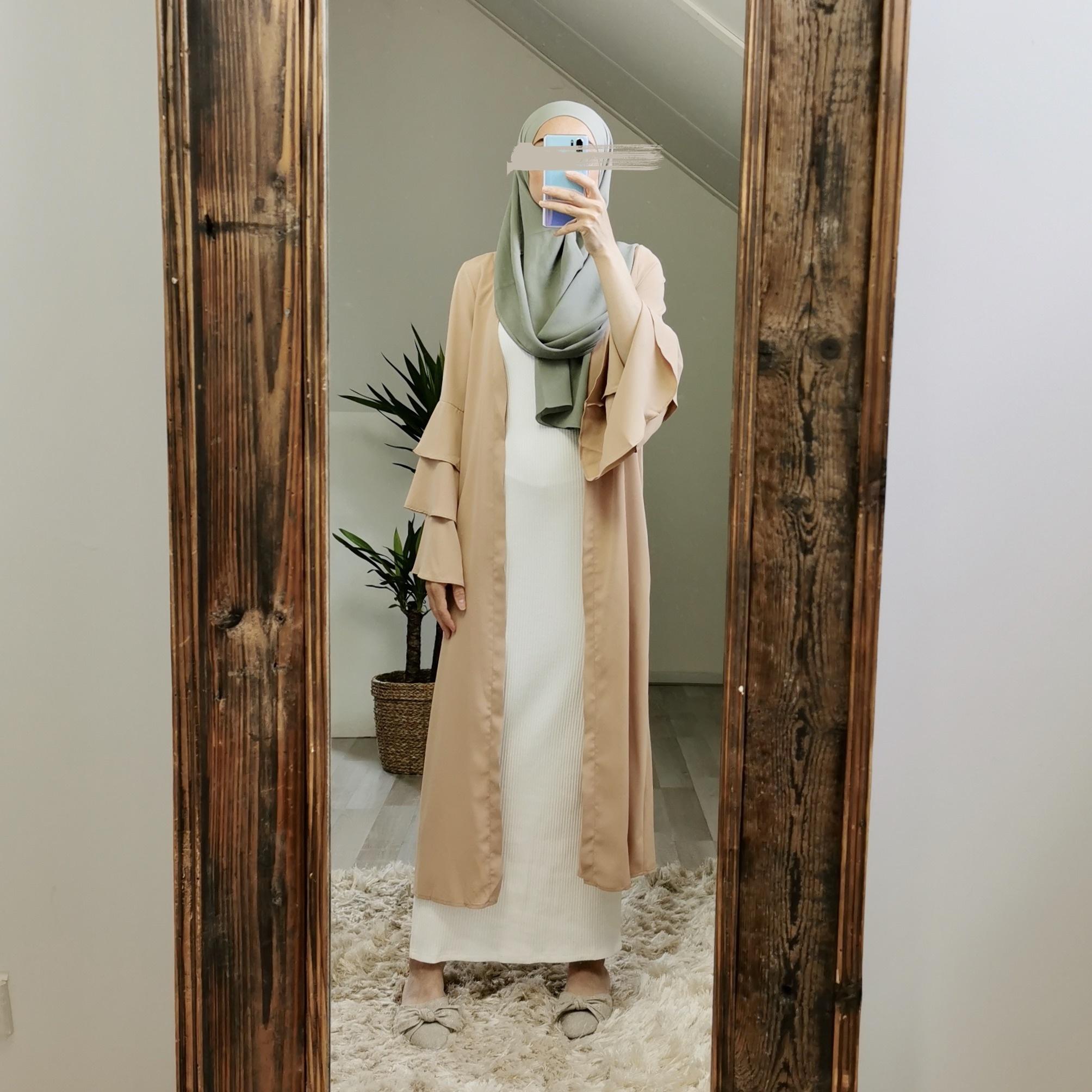 kimono sottomarina beige