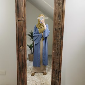kimono sottomarina blue