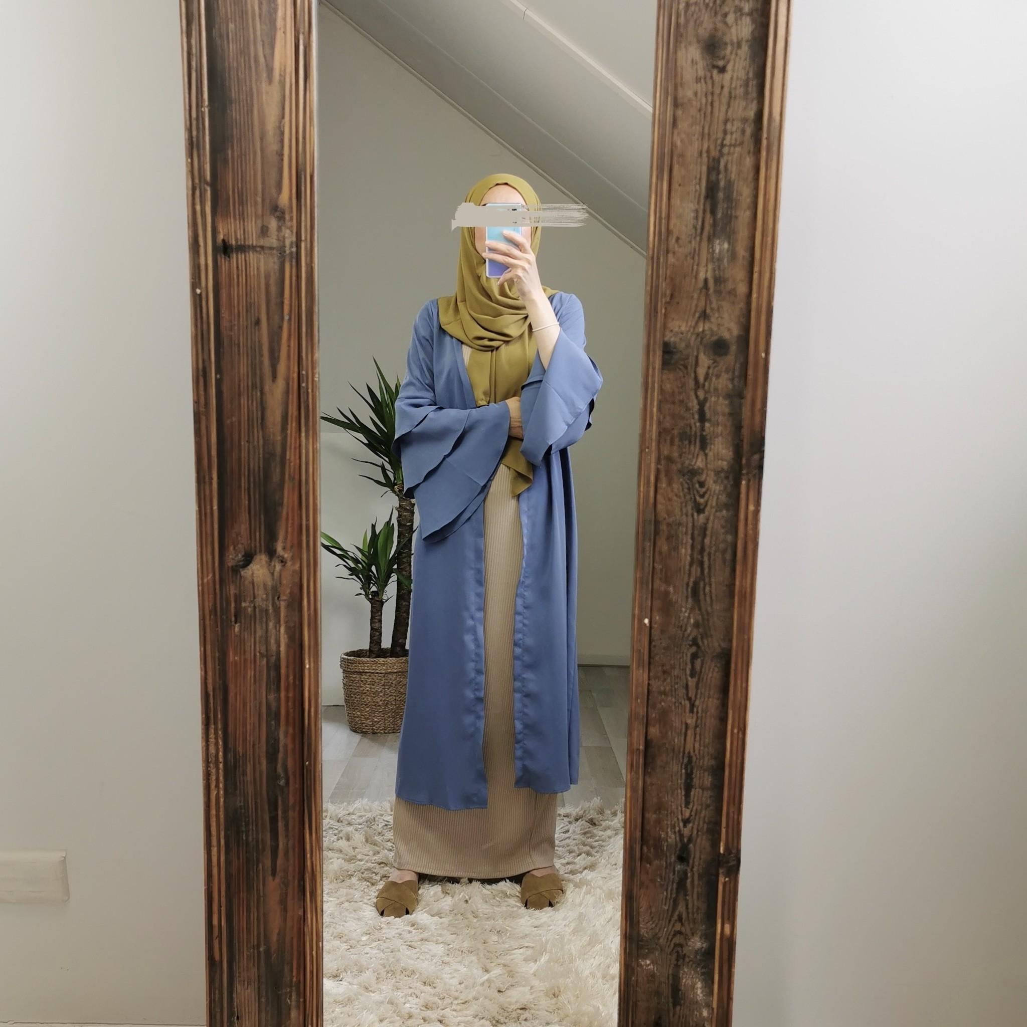 kimono sottomarina blauw