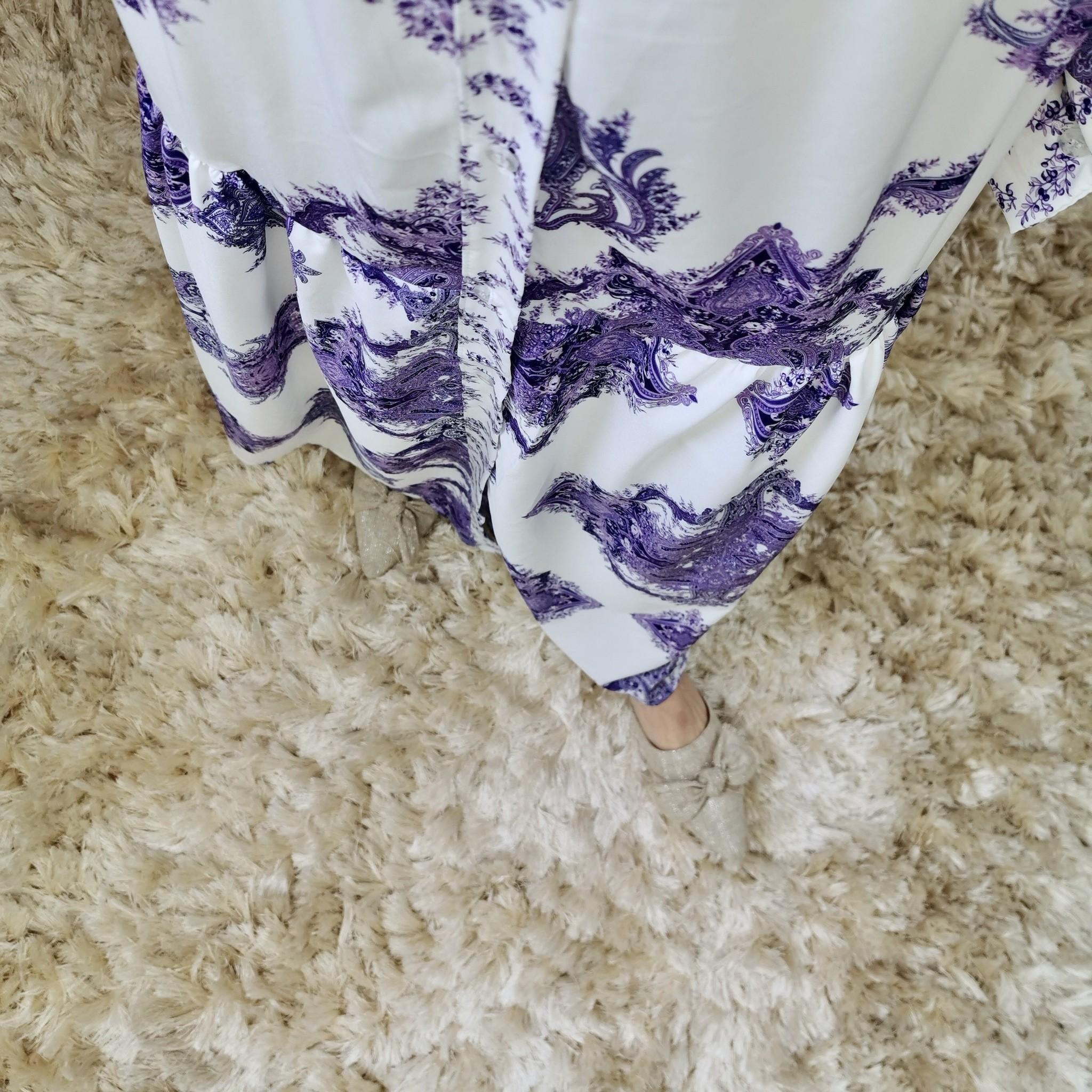jurk massafra paars