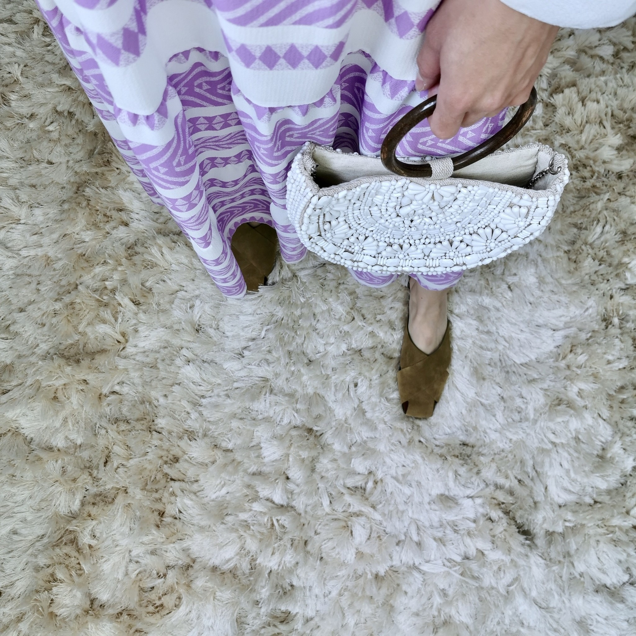 jurk sestriere paars