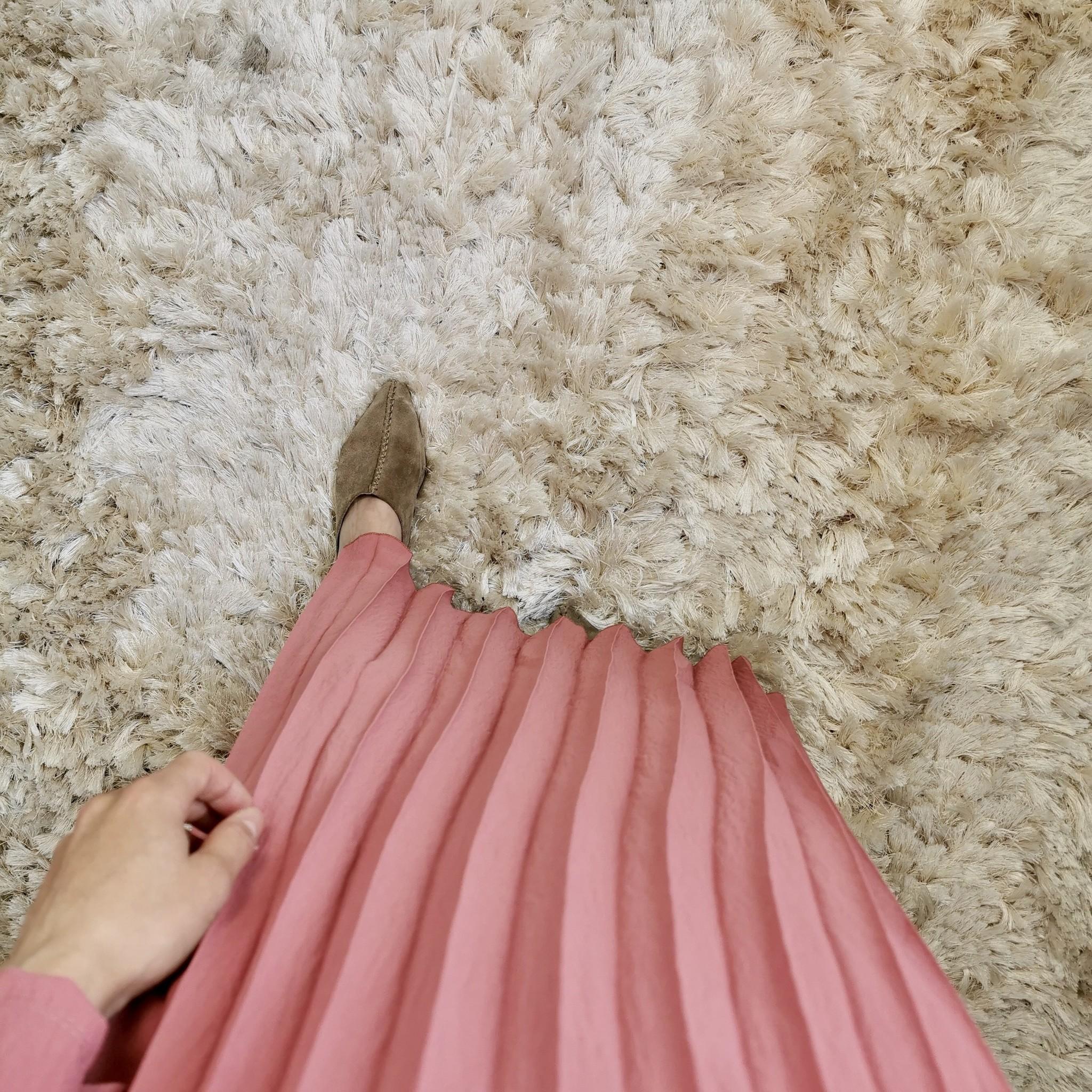 Jurk palinuro coral-pink