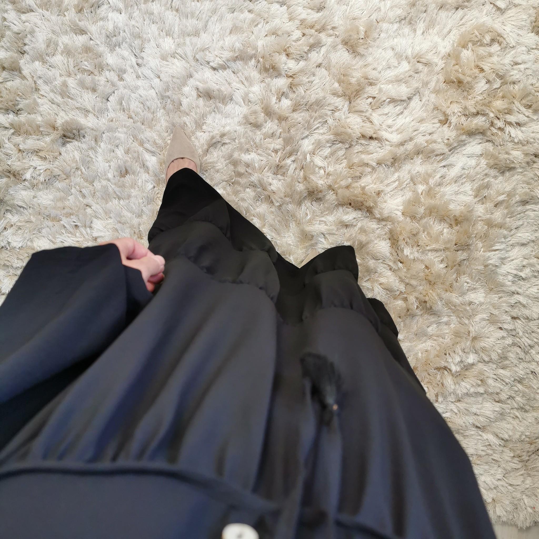 Maxi zomerjurk camucia zwart
