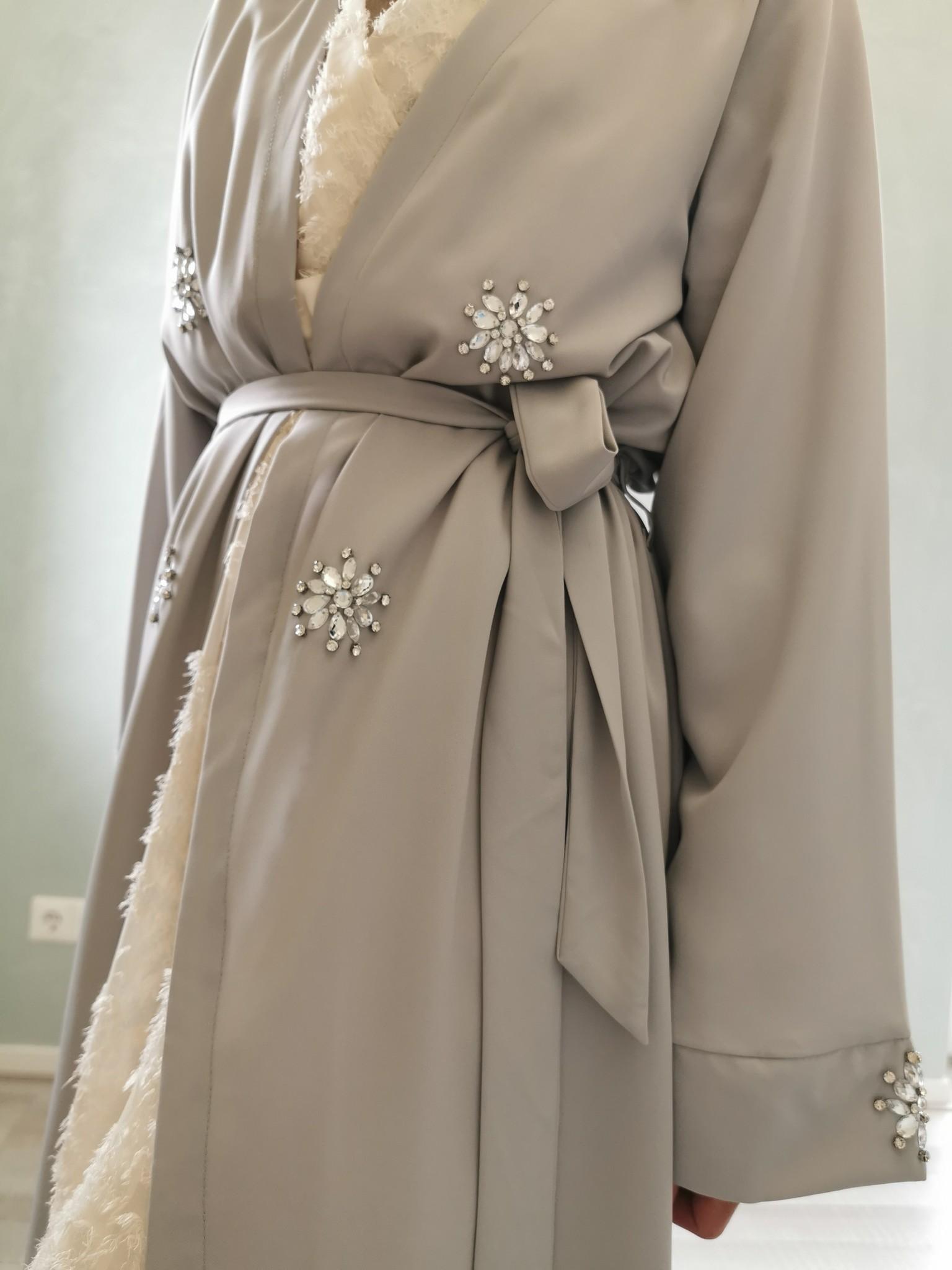 Kimono fonzaso grijs