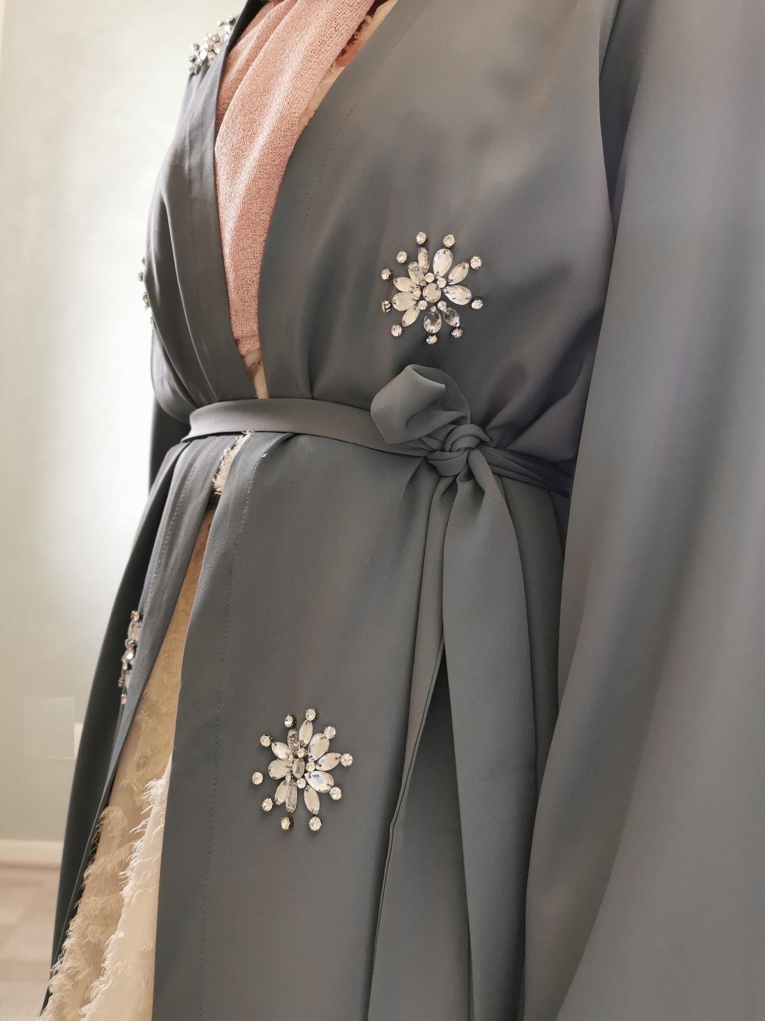 Kimono fonzaso blauw