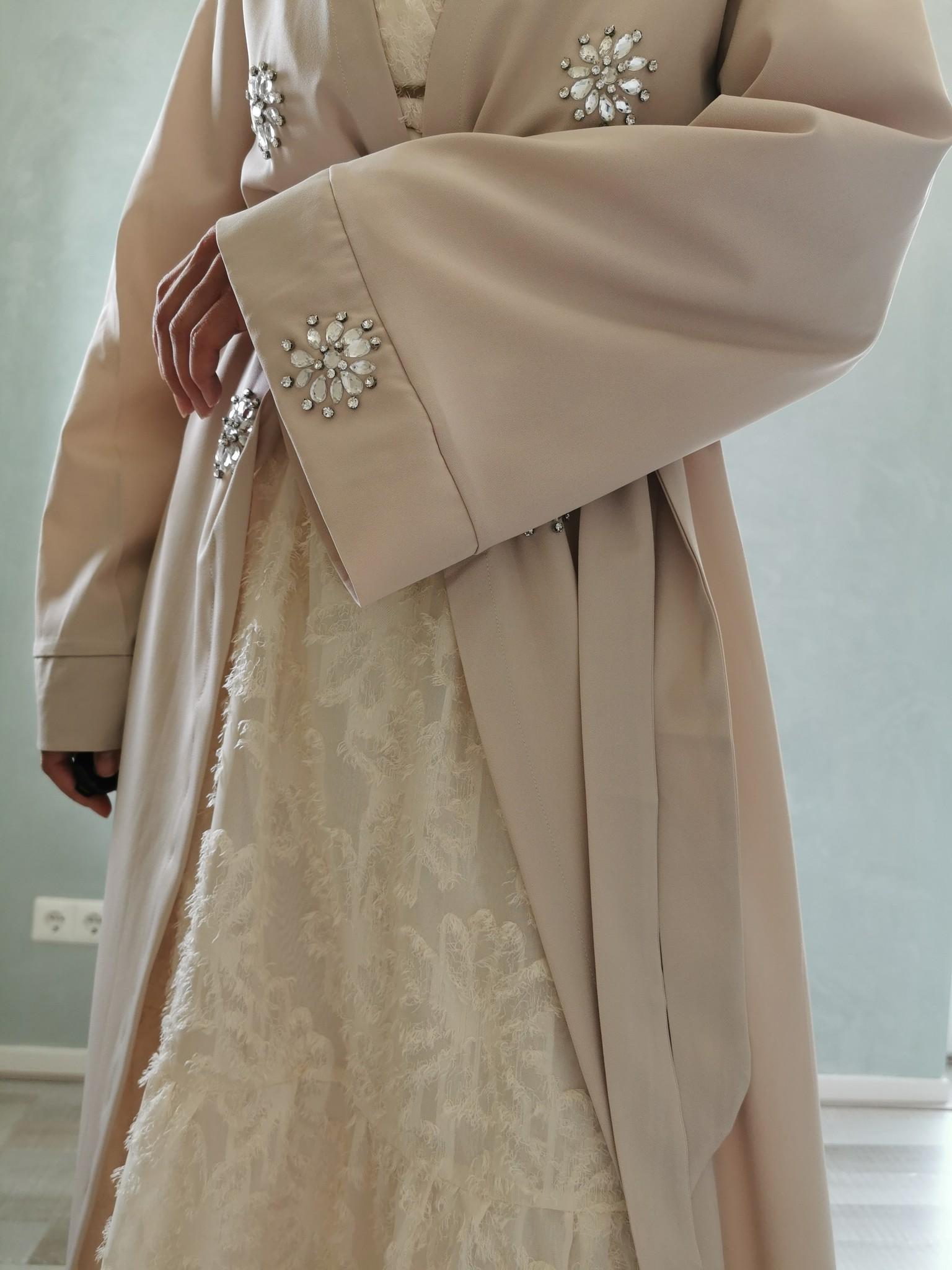Kimono fonzaso beige
