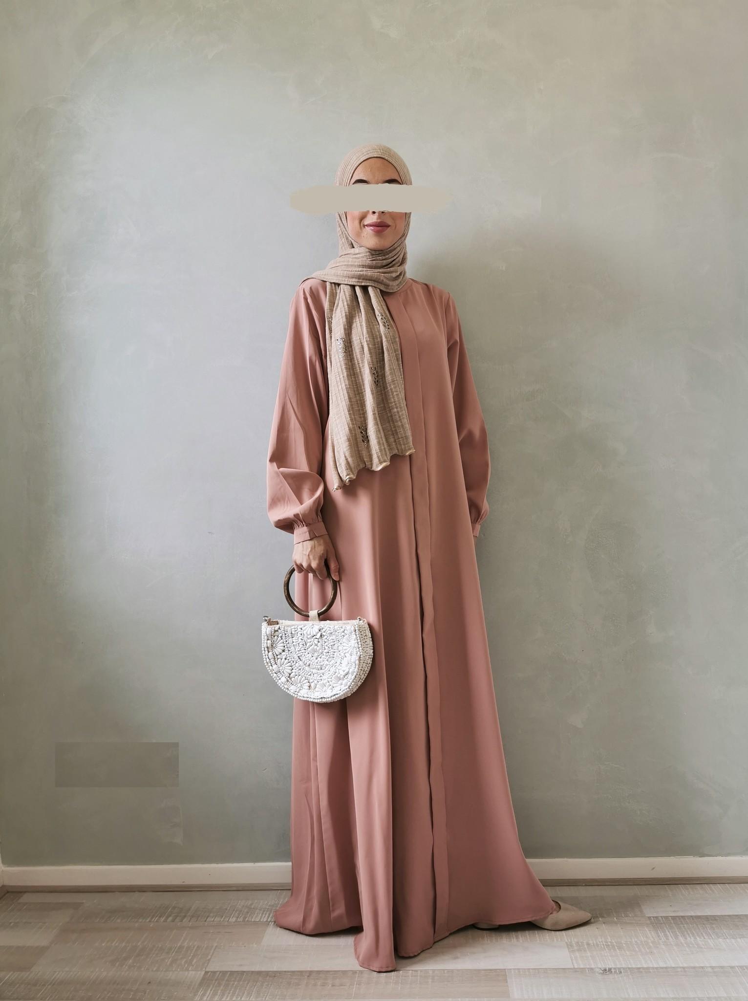 Abaya jesolo roze