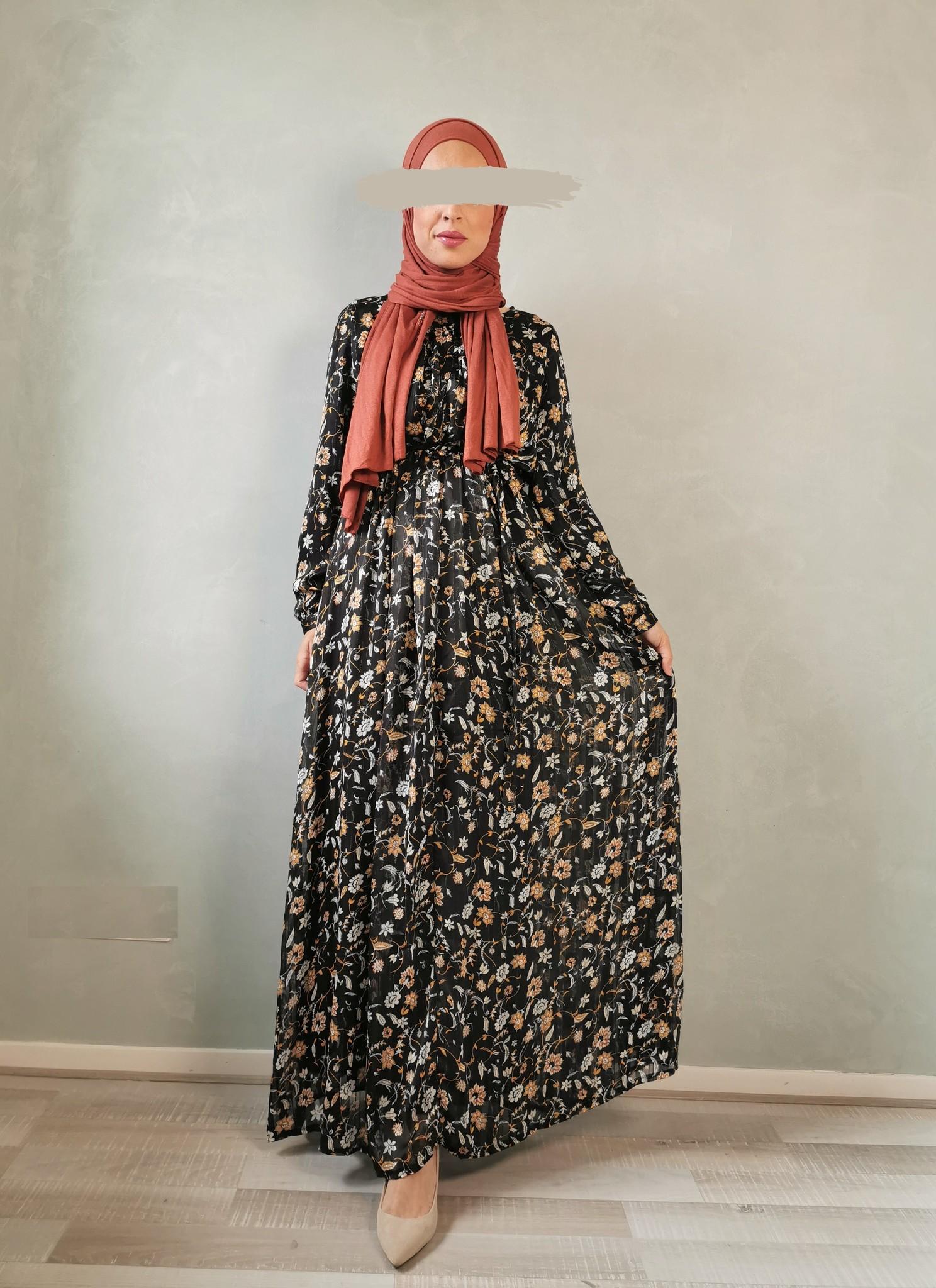 Maxi jurk bulciago zwart
