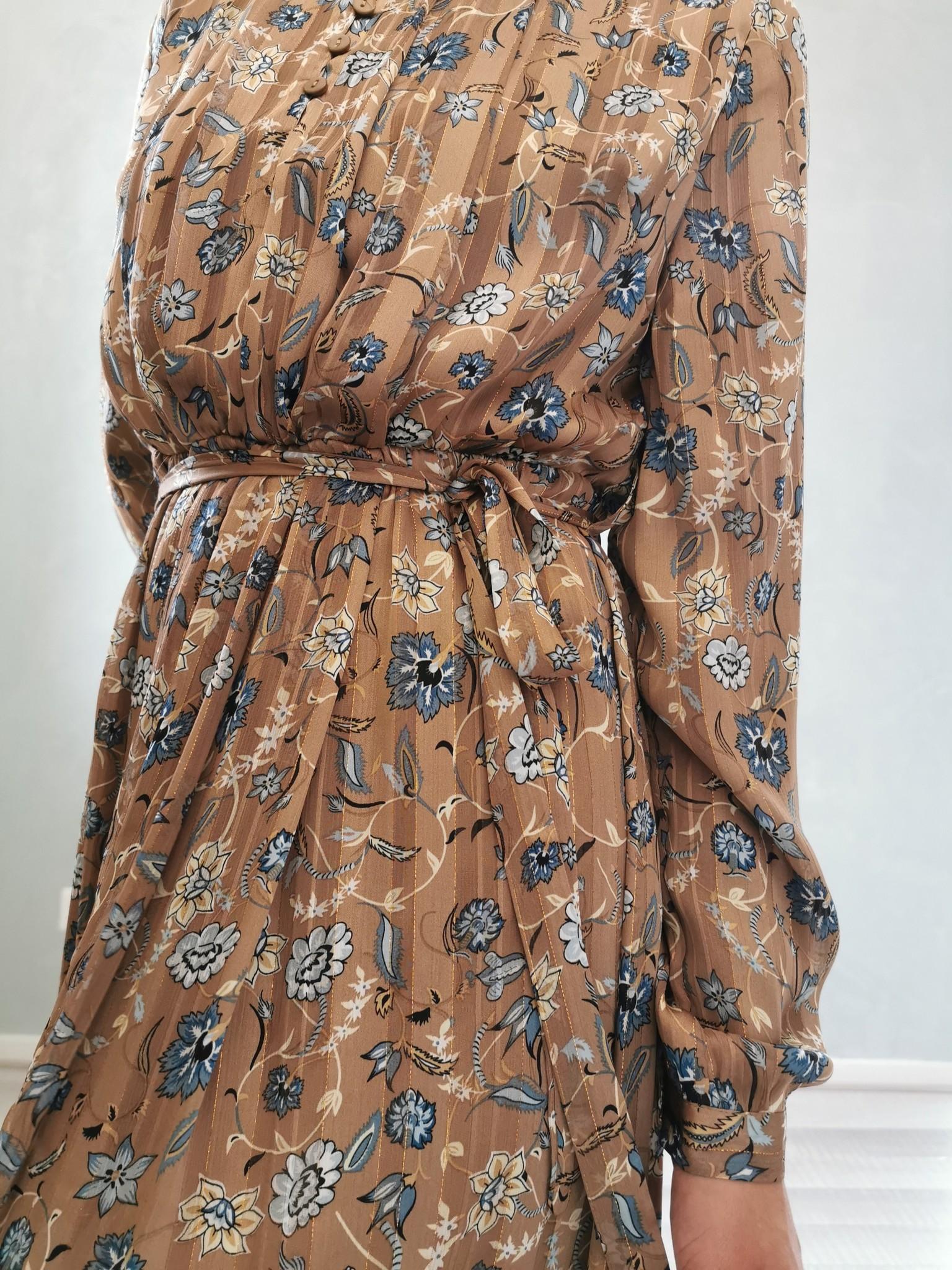 Maxi dress bulciago beige