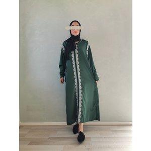 kaftan dress arborea green