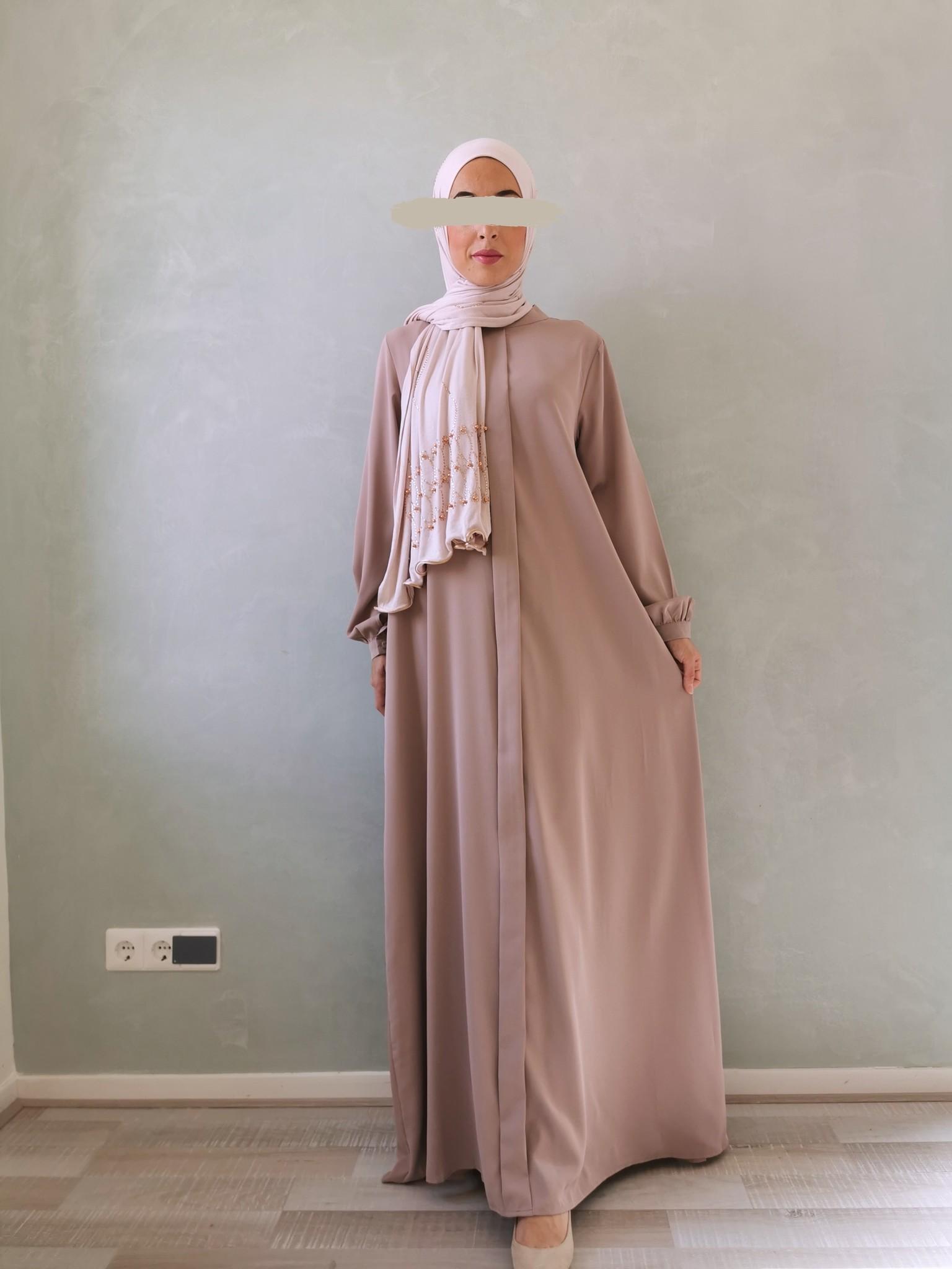 Abaya jesolo licht bruin
