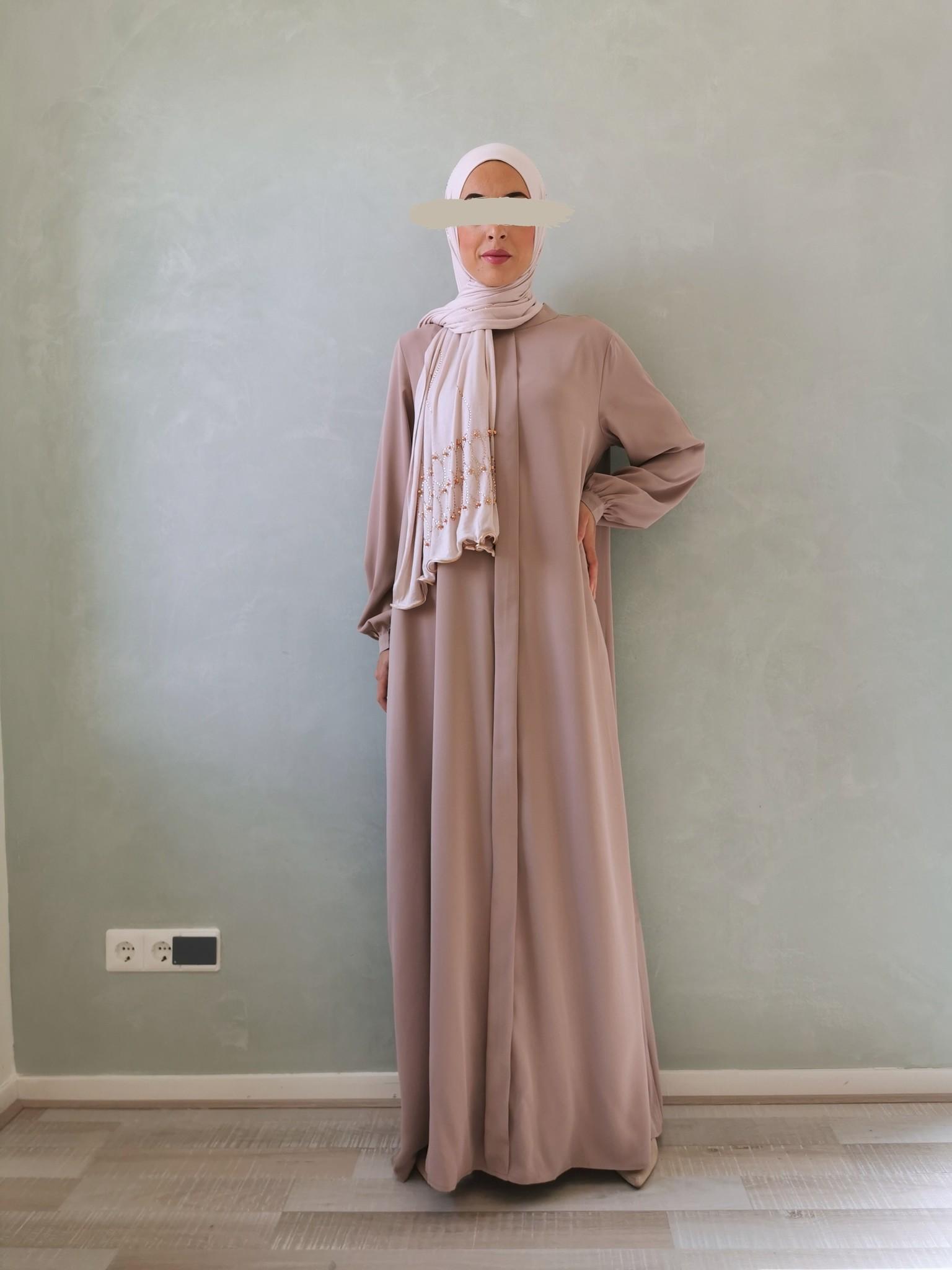 Abaya jesolo light brown