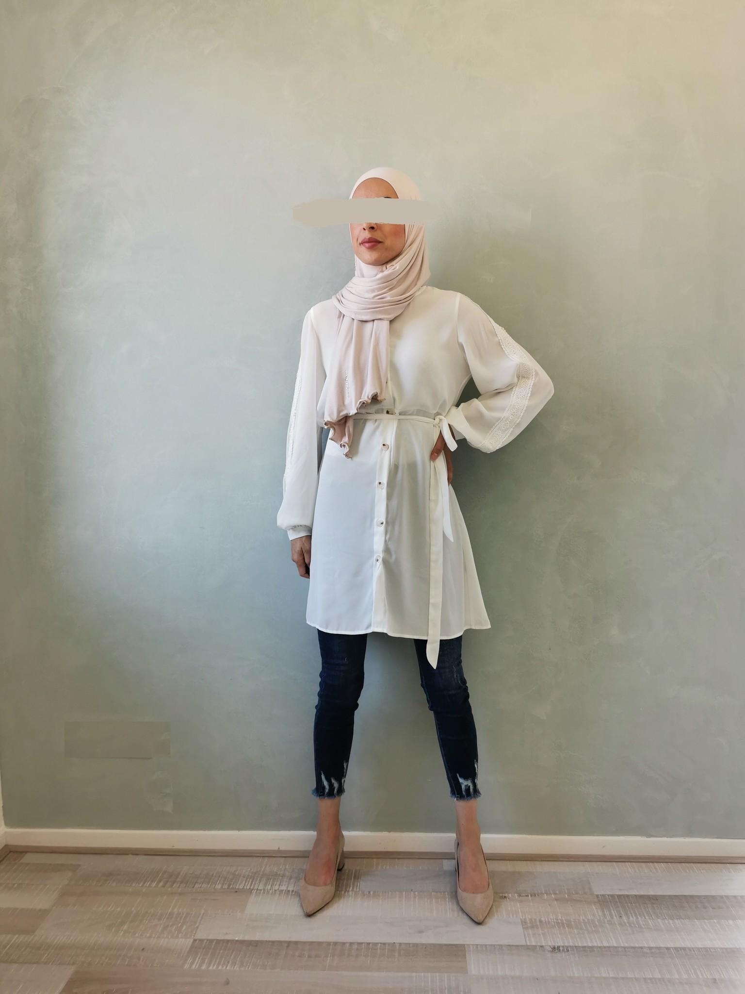 Tuniek bagolino white