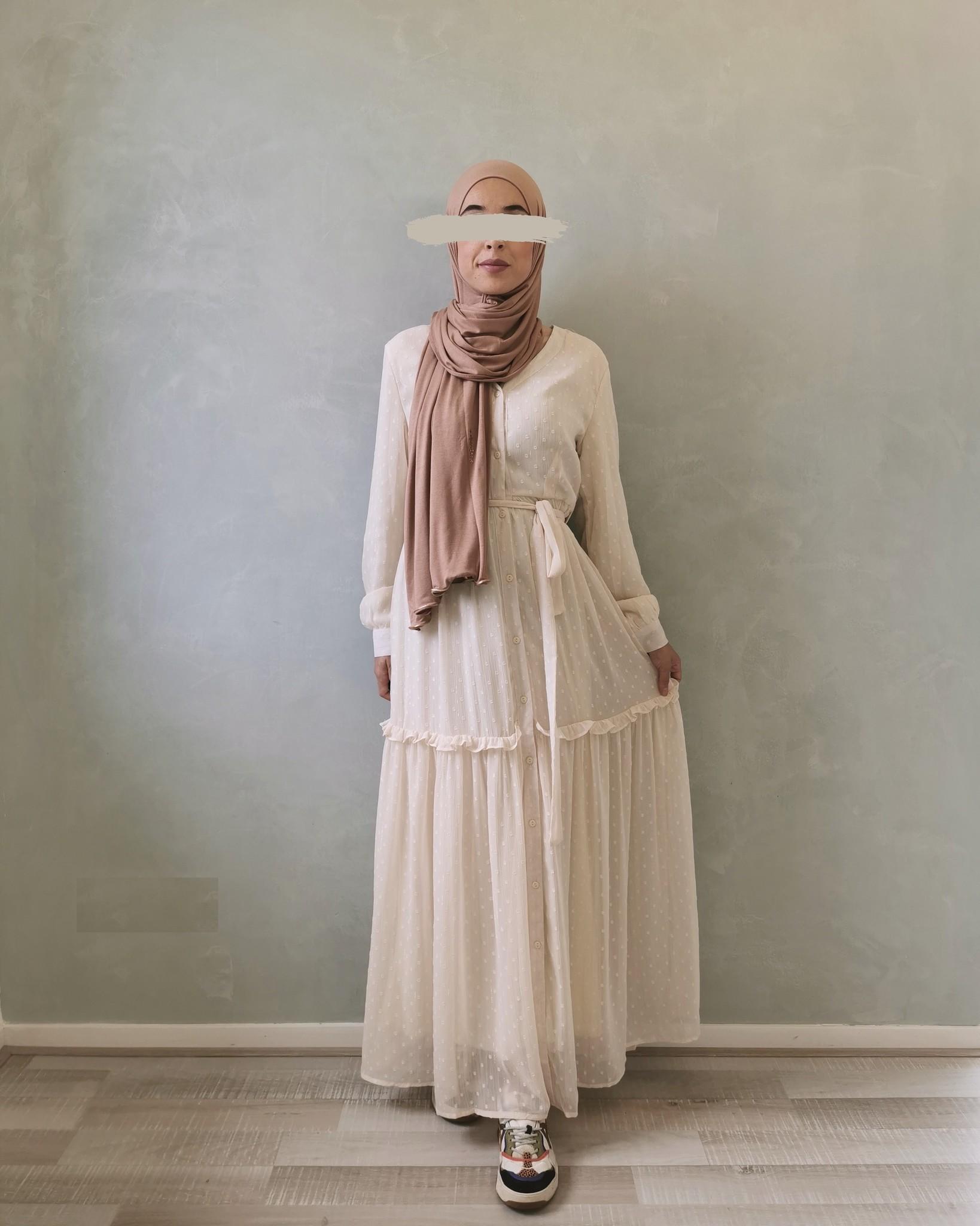 jurk aprica creme
